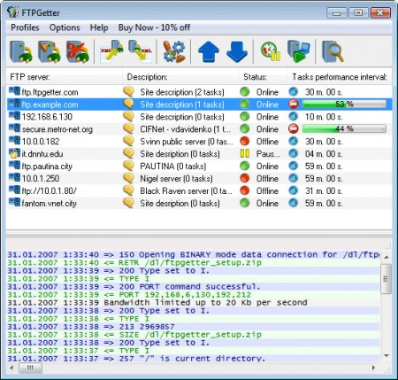 FTPGetter Professional 3.71