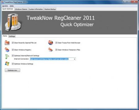 TweakNow RegCleaner 2011 6.4