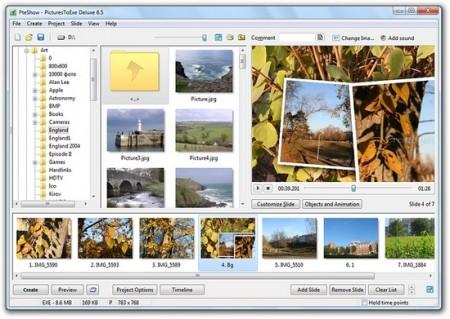 PicturesToExe Deluxe 7.01