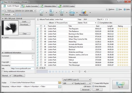 Easy CD-DA Extractor 15.3.0.1