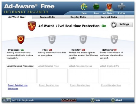 Lavasoft Ad-Aware Free Edition 9.6