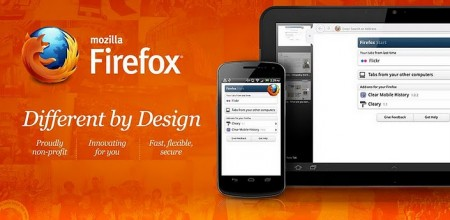 Firefox 9 для Android
